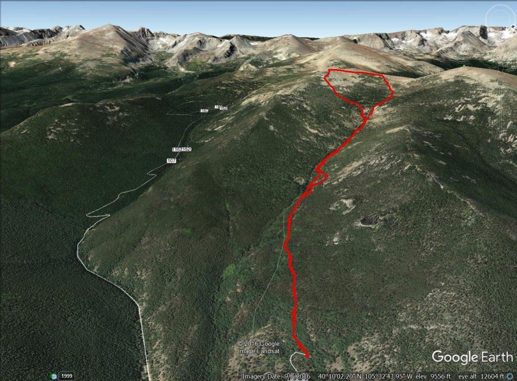 St Vrain Trail