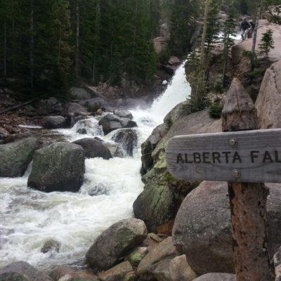 Passing Alberta Falls