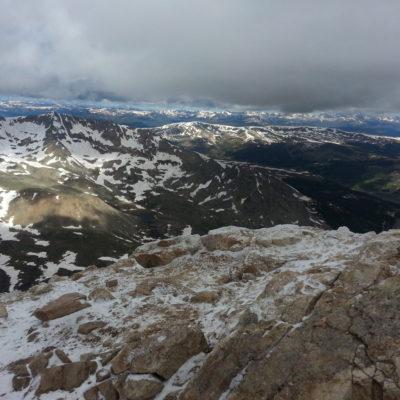 Mt Democrat summit view