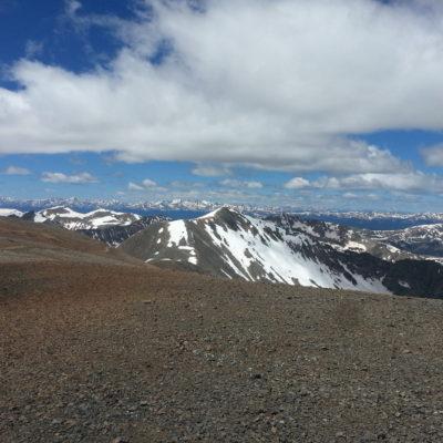 Mt Cameron summit view