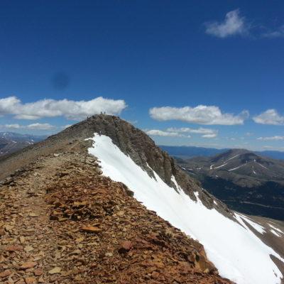 Mt Lincoln summit