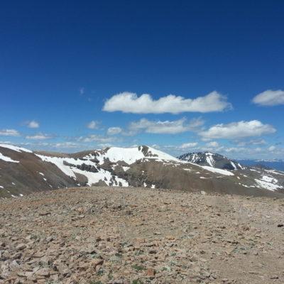Mt Bross summit view