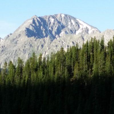 La Plata Peak from the Black Cloud trail