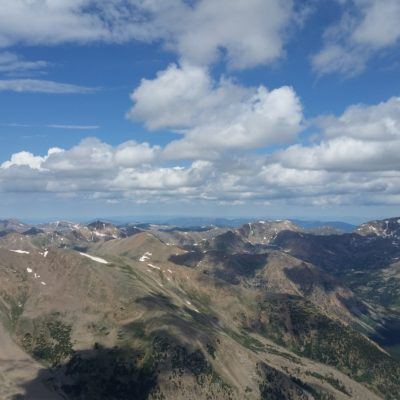 Summit view from Mt Elbert