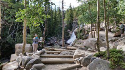 Alberta Falls (9,400′)