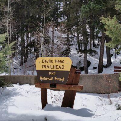 Devils Head trailhead