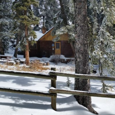 Ranger accommodations near the top