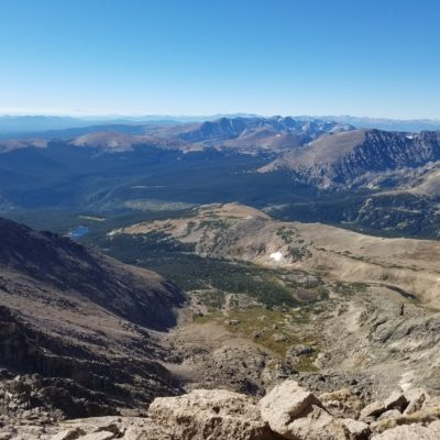 View of the Wild Basin area
