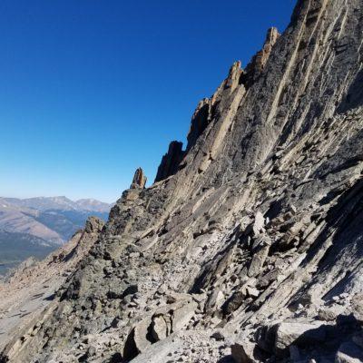 The rugged beauty of Longs Peak