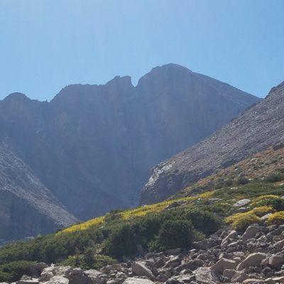 Longs Peak from the Chasm Lake junction
