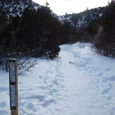 Gradual trail to the falls