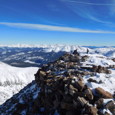 Quandary Peak summit