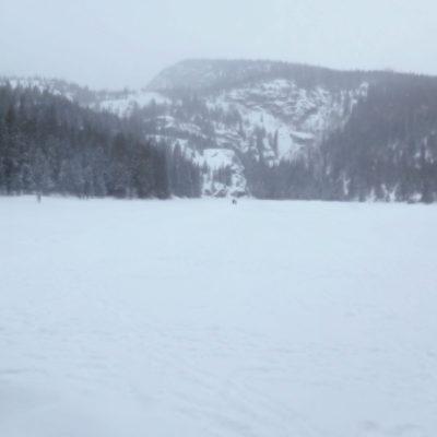 Back at Bear Lake and the trailhead