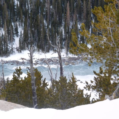 Dream Lake from the Flattop Mtn. trail