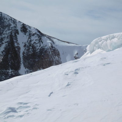 View of Hallett Peak (12,713')