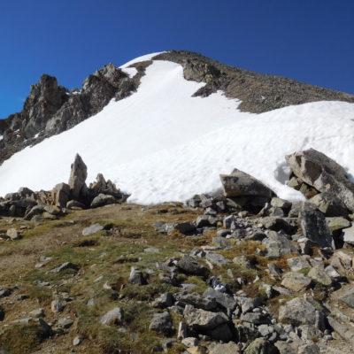 Huron Peak's small summit