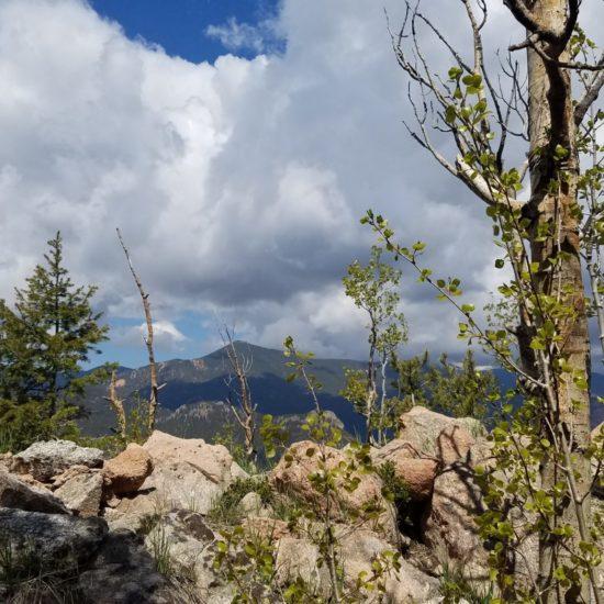 Cheyenne Mountain summit