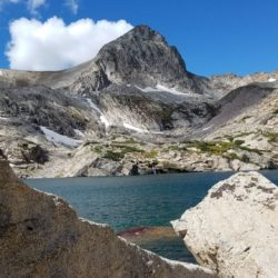 Blue Lake and Mt Toll