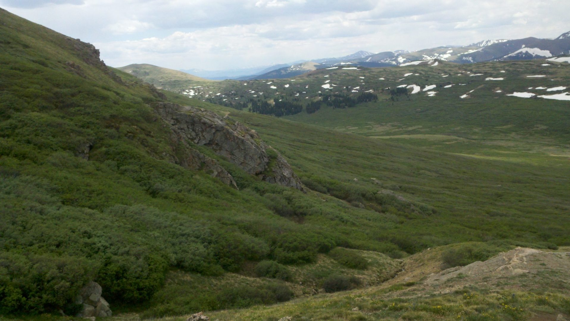 Guanella Pass area