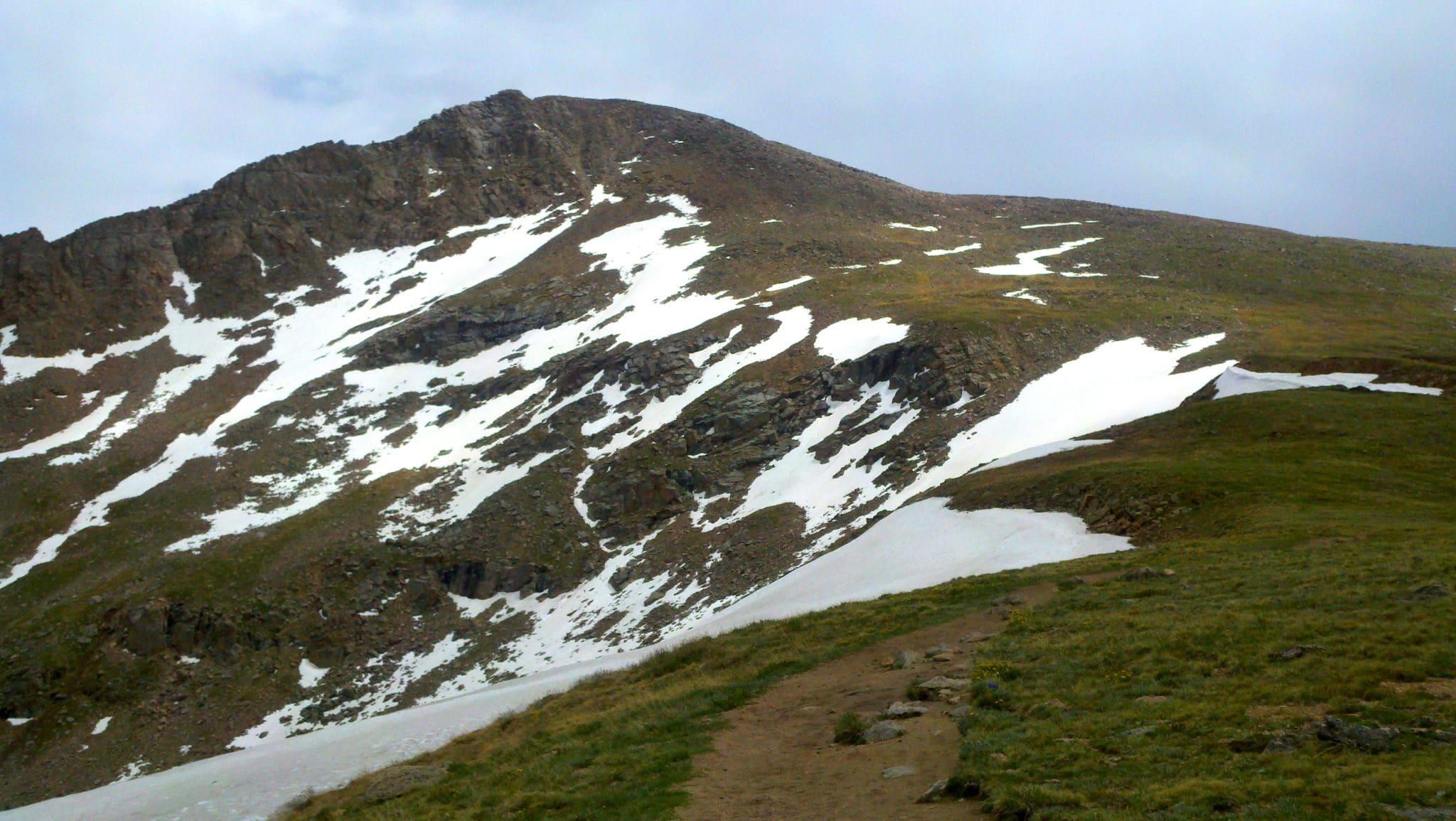 Mt Bierstadt trail to the summit