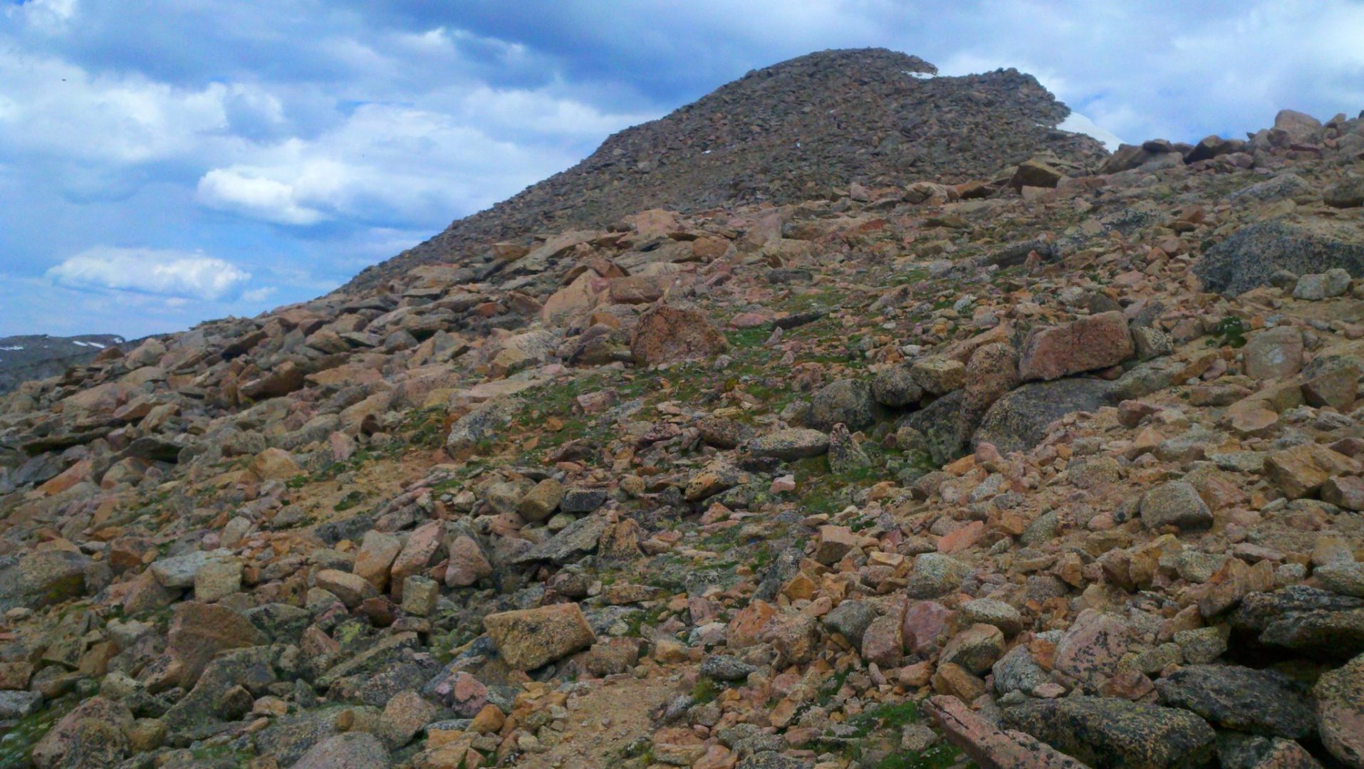 Mt Bierstadt summit ahead