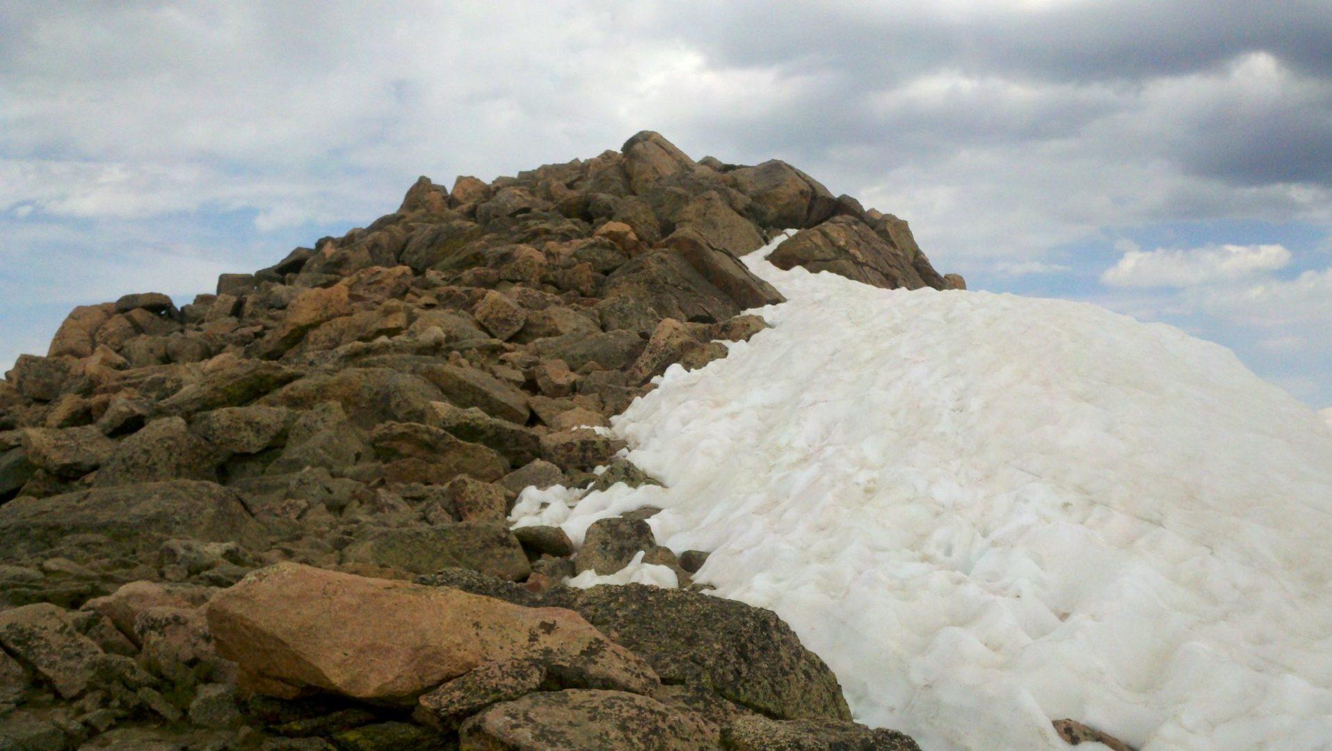 Mt Bierstadt summit