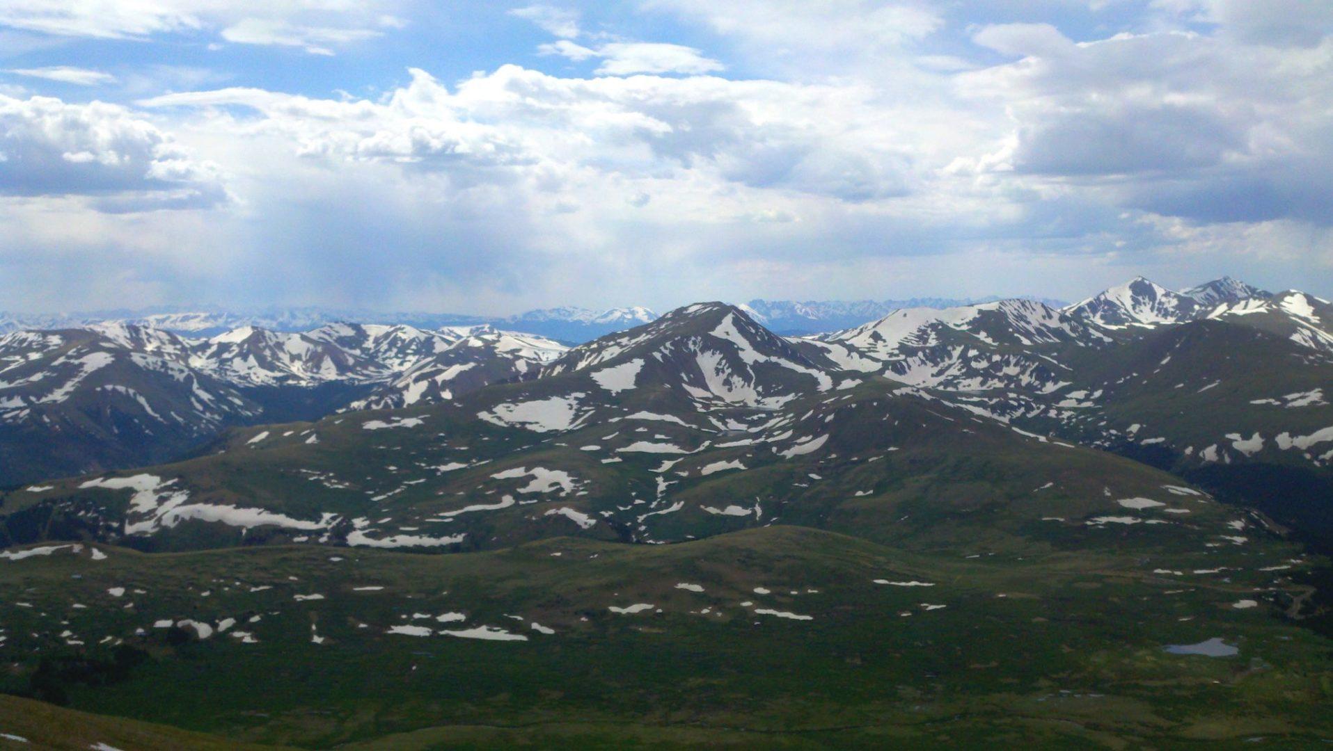 Mt Bierstadt (14,160′), Front Range