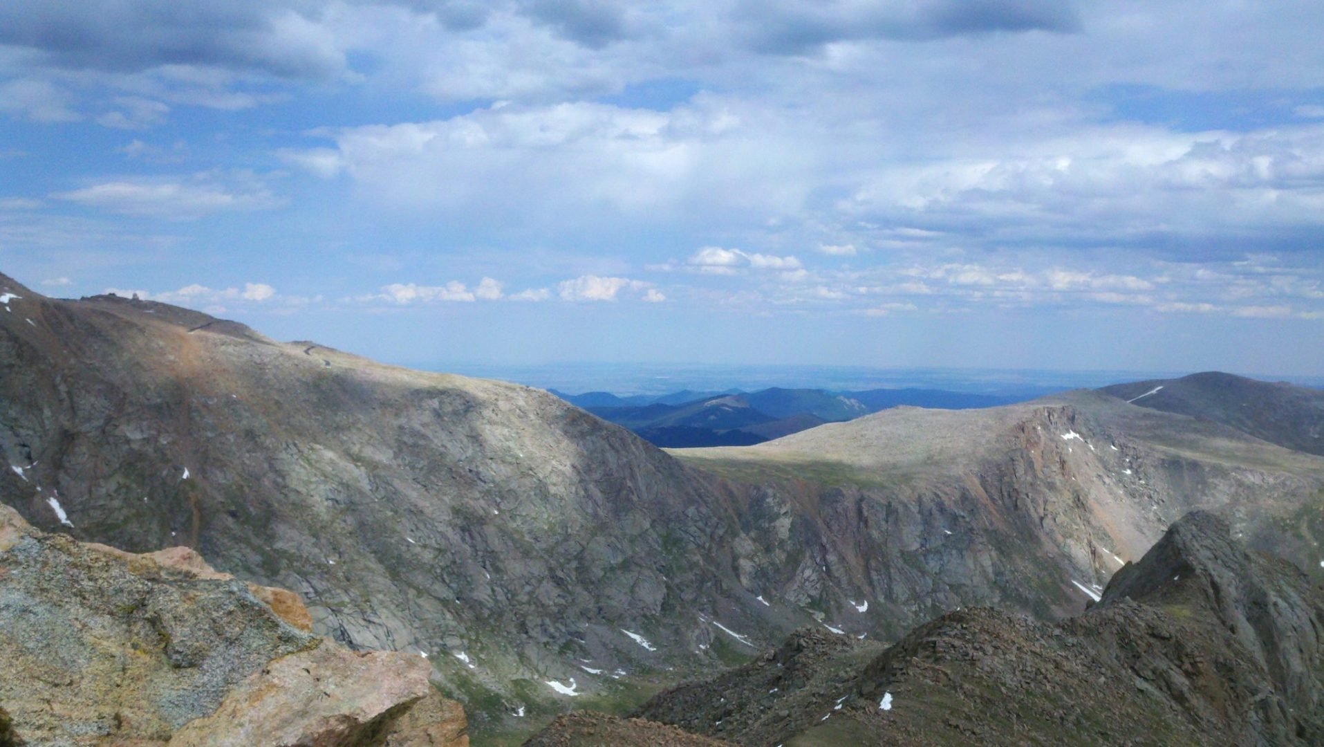 Another view of Mt Evans