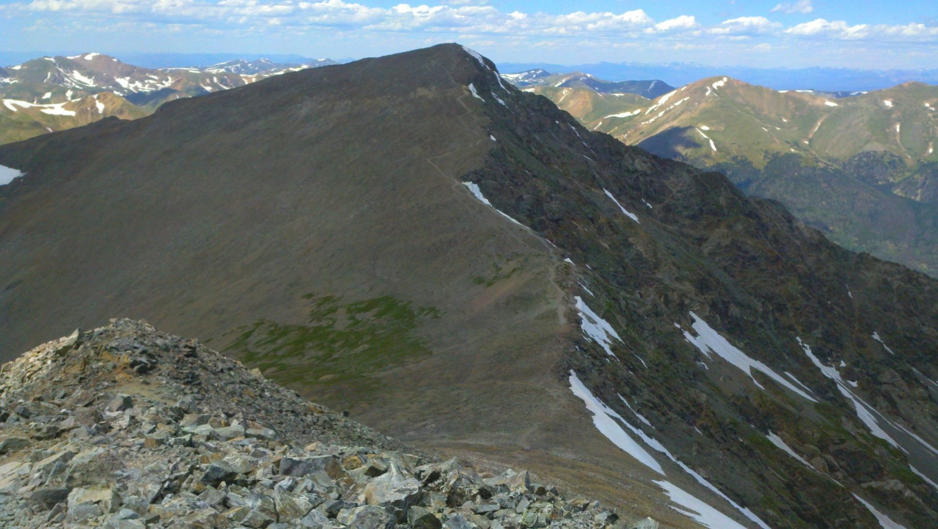 View of Grays Peak