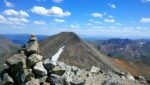 Torreys summit looking at Grays Peak