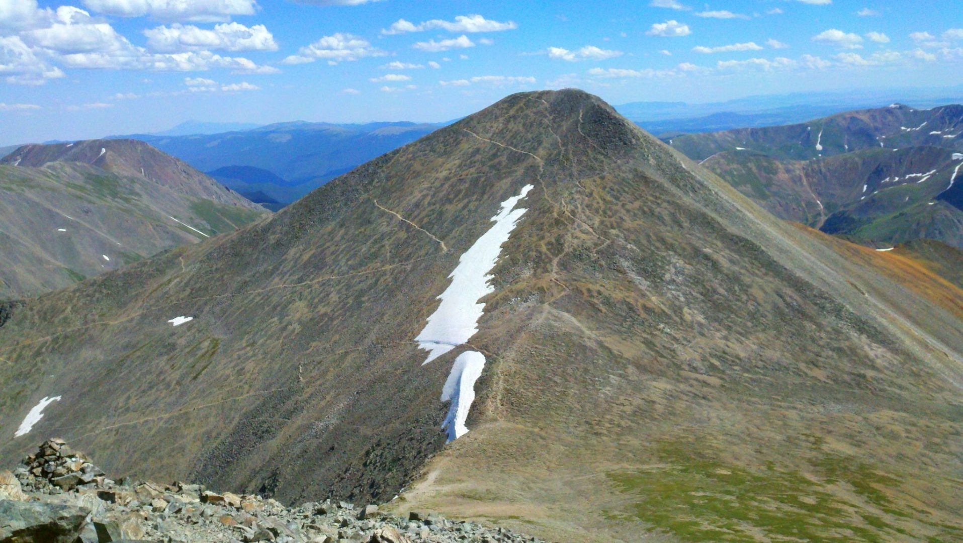 Grays Peak from Torreys Peak