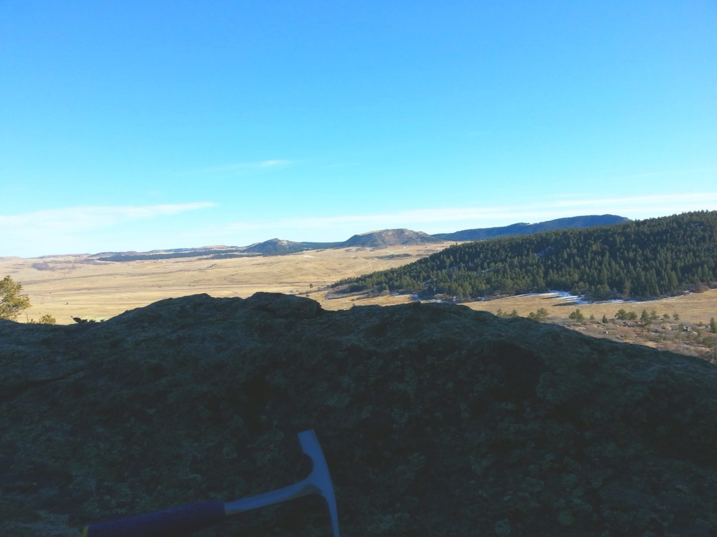 View of Spruce Mountain