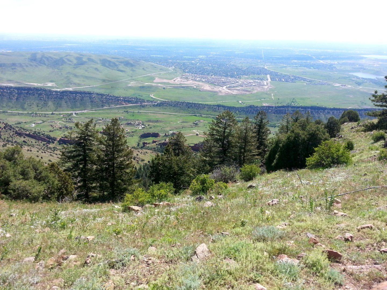 Great views along the ridge