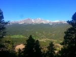 View of Longs Peak and Mt Meeker
