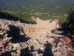 2011 landslide area