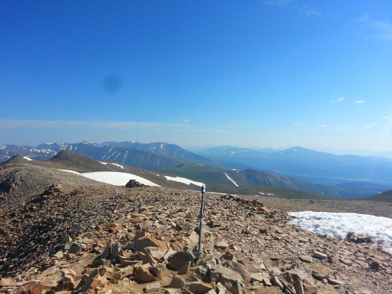 Mt Sherman summit register