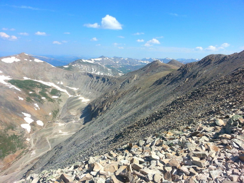 Mt Sherman (14,036′), Mosquito Range