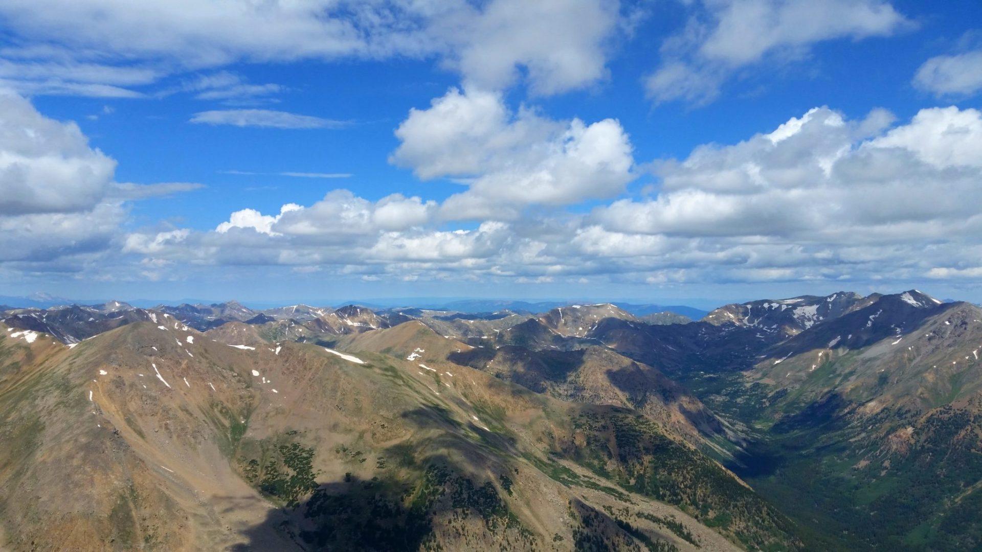 Mt Elbert (14,433′), Sawatch Range