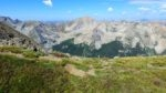 View of Huron Peak from the ridge