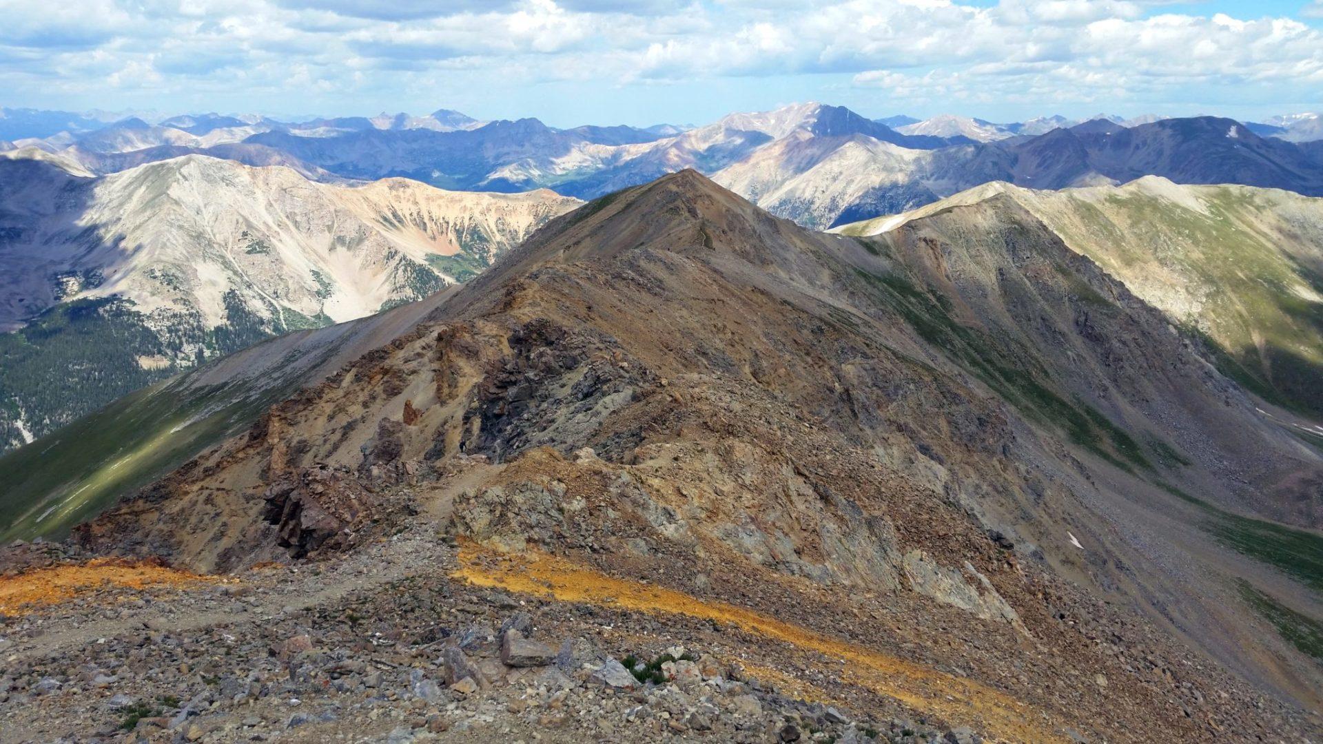 Missouri Mountain summit view