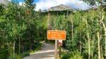 Trailhead in Glacier Gorge