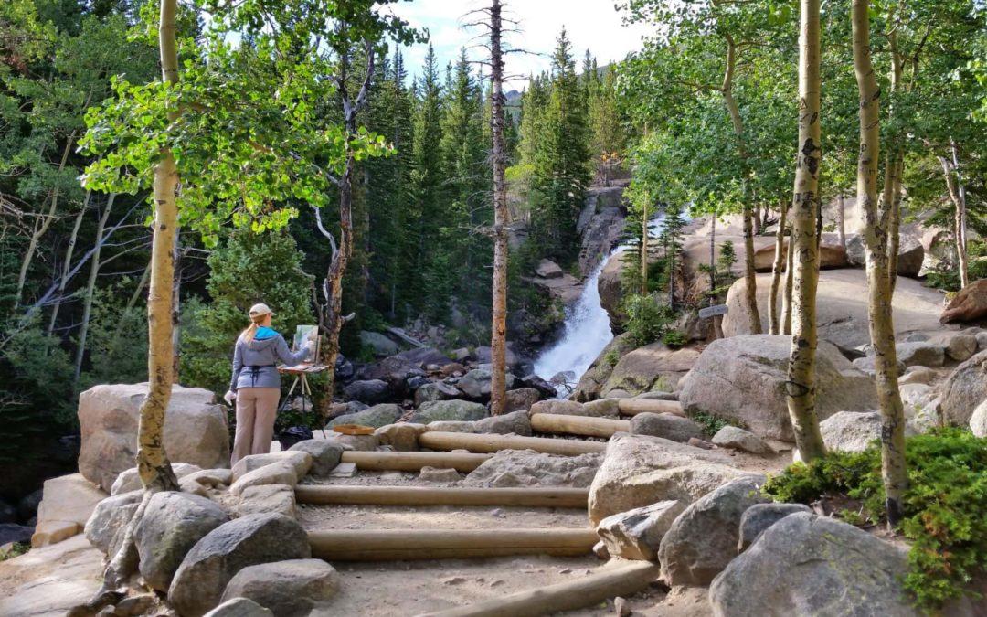 Alberta Falls (9,400′), Front Range