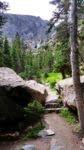 Timberline Falls ahead