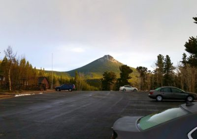 Estes Cone from the Longs Peak trailhead