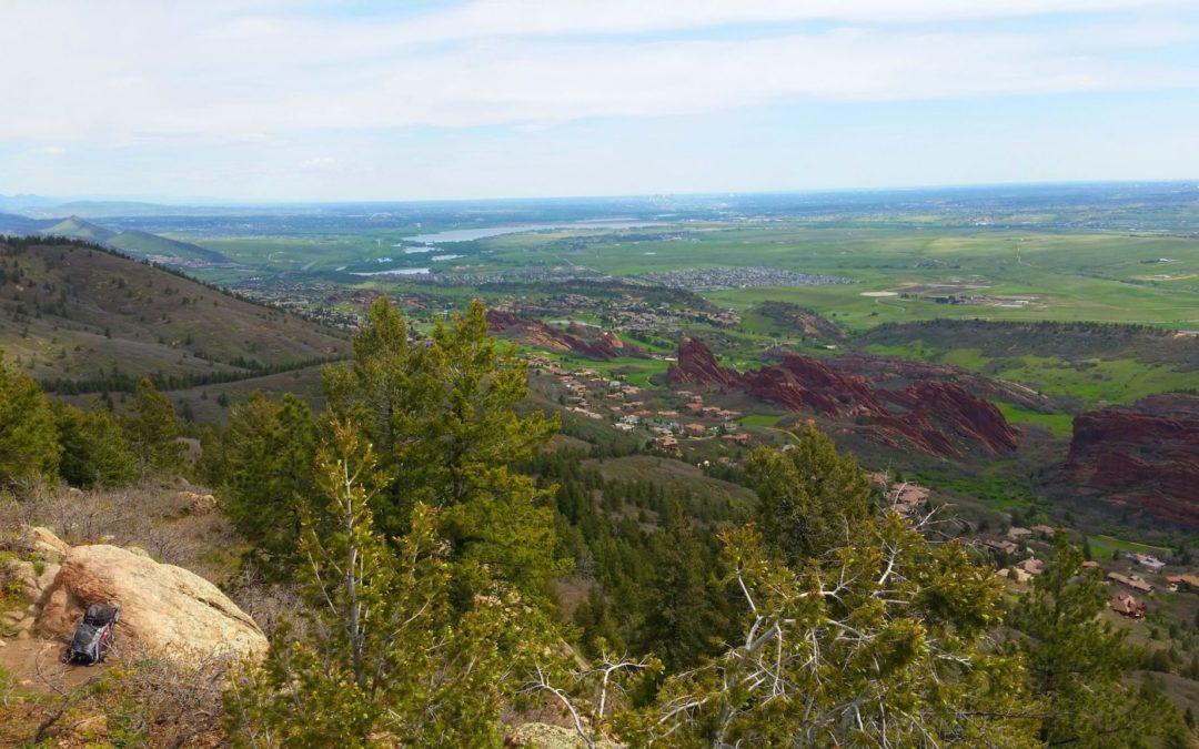 Carpenter Peak (7,166′), Front Range
