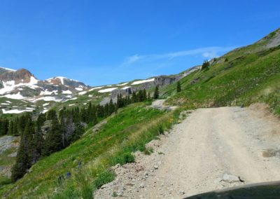 Road to Cinnamon Pass