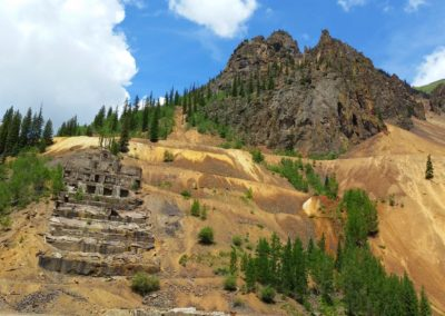 Mine ruins on the way to Animas Forks