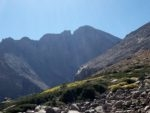 Longs Peak near the Chasm Lake junction