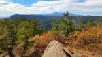 Summit view of Pikes Peak