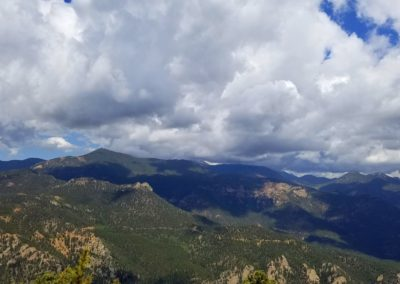 Summit view from Cheyenne Mountain